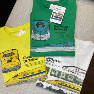 グラニフ(Design Tshirts Store graniph)の【新品130】電車T 3枚セット グラニフ(Tシャツ/カットソー)