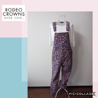 ロデオクラウンズ(RODEO CROWNS)の【ロデオクラウンズ】オーバーオール(サロペット/オーバーオール)