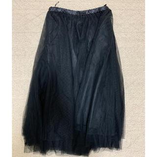 レトロガール(RETRO GIRL)のチュール スカート(ひざ丈スカート)