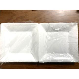 ノリタケ(Noritake)の【新品】ノリタケ 角皿 スクエアプレート 23cm 2枚(食器)