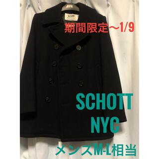 ショット(schott)の【超美品】【人気カラー/サイズ】Schott オーバーサイズ Pコート(ピーコート)