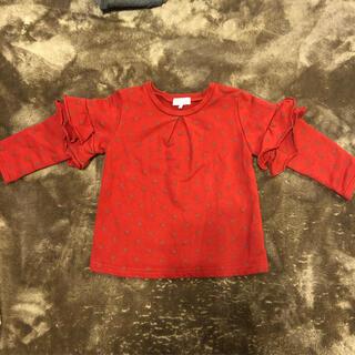 ユナイテッドアローズ(UNITED ARROWS)のユナイテッドアローズ グリーンレーベルキッズ長袖トレーナー(Tシャツ/カットソー)
