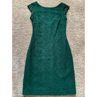 ザラ(ZARA)のZARA  バックオープンドレス(ミディアムドレス)