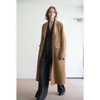 SUNSEA - 【一点モノ】sunsea black rakuda coat