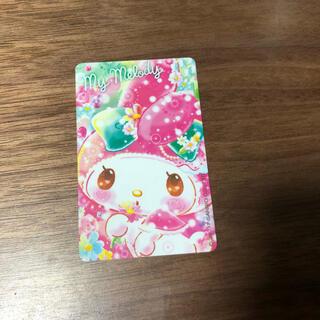 easy card 悠遊カード マイメロ マイメロディ(キャラクターグッズ)