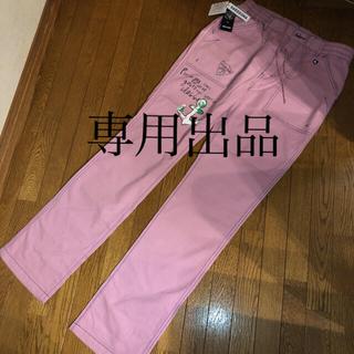 シナコバ(SINACOVA)のSINA COVA シナコバ、新品、オシャレな上質パンツ:サイズW88.ピンク(チノパン)