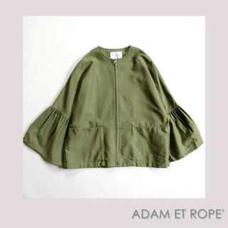 Adam et Rope' - アダムエロペ フレアスリーブブルゾン
