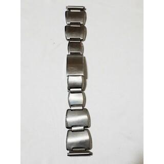 マルマン(Maruman)の商品NO.262♪ラグ幅17~21mm【新品】マルマン♪銀色・金属ベルト(金属ベルト)