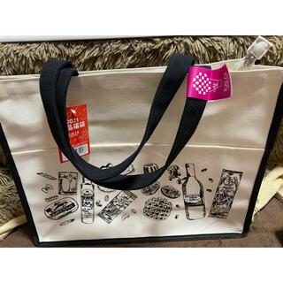 カルディ(KALDI)の★KALDI★カルディ★食品福袋2021★トートバッグ★キャンバス地★ポケット付(トートバッグ)