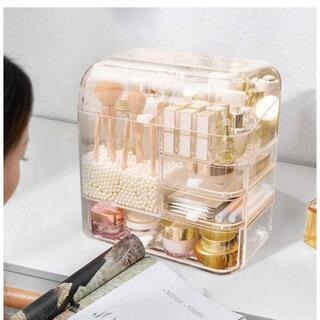 透明化粧品収納ボックス メイクボックス コスメボックス コスメ収納 (メイクボックス)