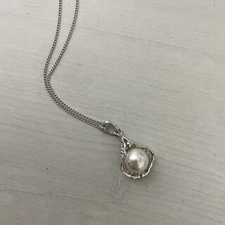 ミキモト(MIKIMOTO)のネックレス ♡ パール×シルバー925(ネックレス)