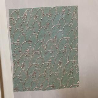 ミナペルホネン(mina perhonen)のミナペルホネン  mina perhonen 生地 ハギレ【グリーン】(生地/糸)