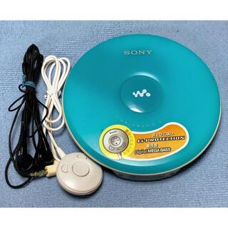 ウォークマン(WALKMAN)の【SONY】CDウォークマン ブルー D-EJ002 (動作確認済み)(ポータブルプレーヤー)