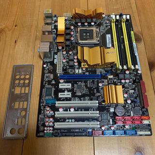エイスース(ASUS)の美品 レア P5Q LGA775 最上位チップセット(PCパーツ)