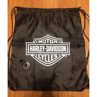 ハーレーダビッドソン(Harley Davidson)のHarley Davidson ナップサック&魚眼レンズ セット(ノベルティグッズ)