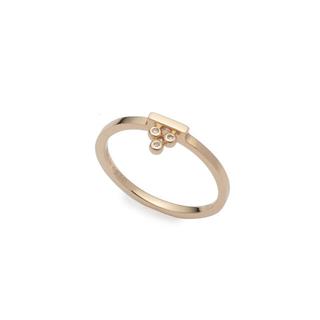 エストネーション(ESTNATION)の【美品】Hirotaka  Stacking Diamond Ring(リング(指輪))