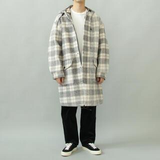 エディション(Edition)のFULL ZIP PARKA COAT -Needle punch Fleece(モッズコート)