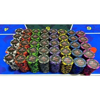 Japan Poker Tour ポーカーチップ 100枚 (トランプ/UNO)