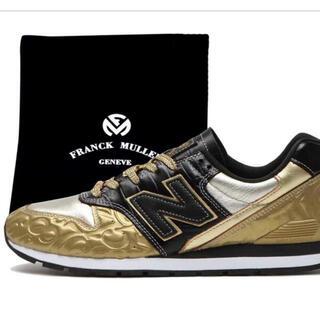 """フランクミュラー(FRANCK MULLER)のFRANCK MULLER × NEW BALANCE CM996 """"GOLD""""(スニーカー)"""