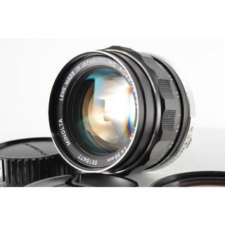 コニカミノルタ(KONICA MINOLTA)のミノルタ Minolta Rokkor PF 58mm f1.4 MC #137(レンズ(単焦点))