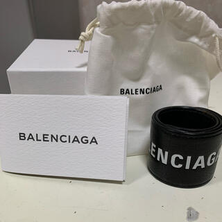 バレンシアガ(Balenciaga)のBALENCIAGA レザーブレスレット(ブレスレット)