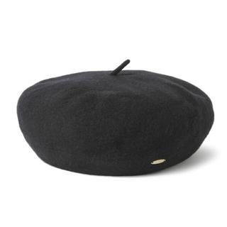 STUDIO CLIP - STUDIO CLIP ベレー帽 ブラック 黒