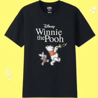 ディズニー(Disney)のユニクロ サウンドオブディズニー プー メンズ M (Tシャツ/カットソー(半袖/袖なし))