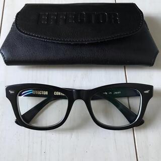 エフェクター(EFFECTOR)のEFFECTOR CONTORTION エフェクター メガネ 眼鏡(サングラス/メガネ)