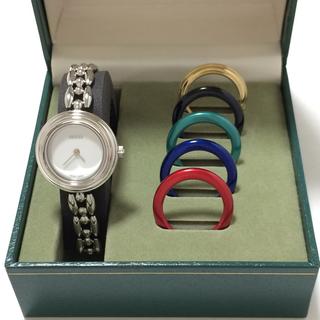 グッチ(Gucci)の3.超美品 グッチ GUCCI 時計 チェンジベゼル(腕時計)