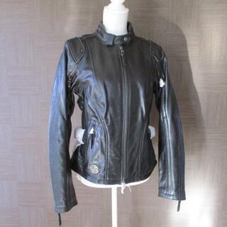 ハーレーダビッドソン(Harley Davidson)の未使用 ハーレーダビッドソン 黒 レザージャケット M 115周年 ブルーライン(ライダースジャケット)