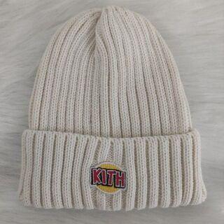 ハフ(HUF)の【KITH】日本未発売 トムとジェリーコラボ ビーニー(白)(ニット帽/ビーニー)