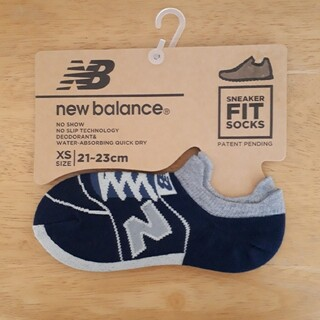 ニューバランス(New Balance)の【新品】new balanceスニーカーソックス(ソックス)