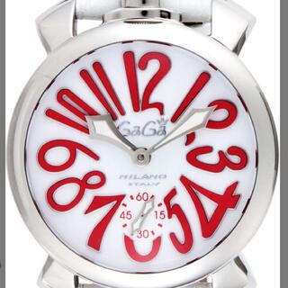 ガガミラノ(GaGa MILANO)のGAGA Milano腕時計 ホワイト文字盤  5010.14S-WHT(腕時計)