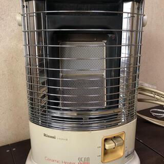 リンナイ(Rinnai)のリンナイガスストーブ 都市ガス用 R-852PMSⅢ ホース付(ストーブ)