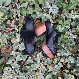 ジーナシス(JEANASIS)のJINASIS 厚底ローファー (ローファー/革靴)