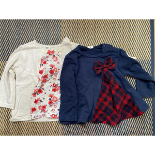 アカチャンホンポ(アカチャンホンポ)の90トレーナー 2枚セット(Tシャツ/カットソー)