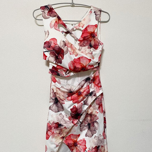 an(アン)のanドレス✴︎キャバクラ✴︎ミニドレス✴︎タグ付き未使用 レディースのフォーマル/ドレス(ナイトドレス)の商品写真