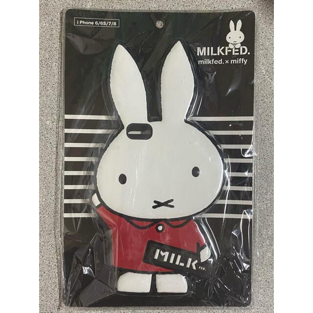 MILKFED.(ミルクフェド)のMILKFED.×miffy ミルクフェド×ミッフィー iPhoneケース スマホ/家電/カメラのスマホアクセサリー(iPhoneケース)の商品写真