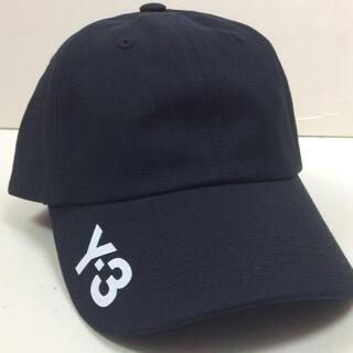 ワイスリー(Y-3)のY-3 コットンキャップ 黒 ワイスリー (キャップ)