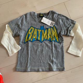 ビューティアンドユースユナイテッドアローズ(BEAUTY&YOUTH UNITED ARROWS)のバッドマン ロング tシャツ  グレー(Tシャツ/カットソー)