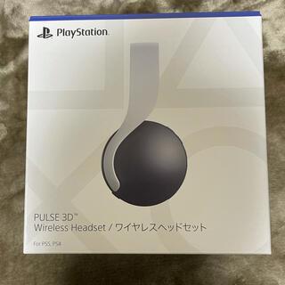 プレイステーション(PlayStation)のPlayStation5 ワイヤレスヘッドセット(ヘッドフォン/イヤフォン)