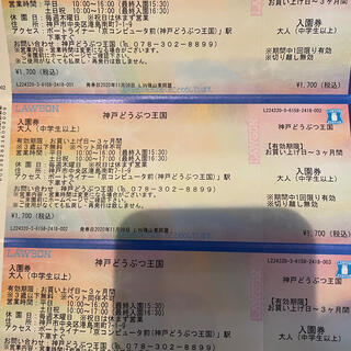 神戸どうぶつ王国チケット(動物園)