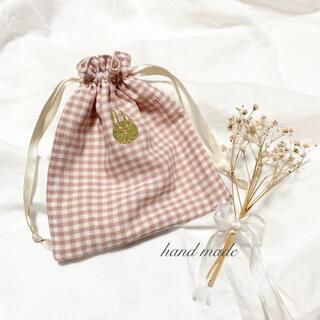 ジェラートピケ(gelato pique)の巾着⋈小物入れ⋈サニタリー⋈ポーチ⋈マルチポーチ⋈ハンドメイド(ポーチ)