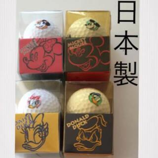 ディズニー(Disney)の入手困難✨新品・日本製✨ディズニー ゴルフボール 4個セット(その他)