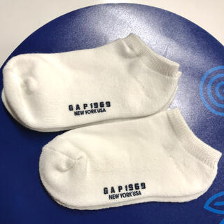 ギャップ(GAP)の新品 GAP ソックス 2足セット サイズ 19〜21㎝(靴下/タイツ)