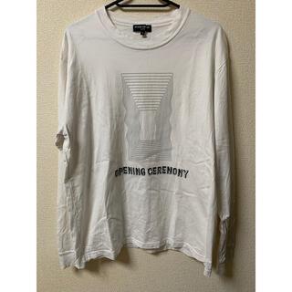 オープニングセレモニー(OPENING CEREMONY)のオープニングセレモニー ロンT(Tシャツ/カットソー(七分/長袖))