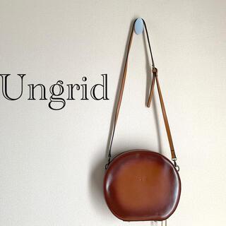 アングリッド(Ungrid)のUngrid アングリッド 丸型バッグ ポシェット(ショルダーバッグ)