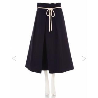アドーア(ADORE)のアドーア ADORE  スカート  ネイビー 38(ロングスカート)