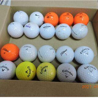 タイトリスト(Titleist)のゴルフボール ロスト 20球(キャラウエイ6+タイトリスト6+他8)(その他)