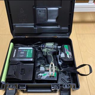 ヒタチ(日立)のHikoki日立 コードレスインパクトドライバ WH36DC 2XPG緑(工具)